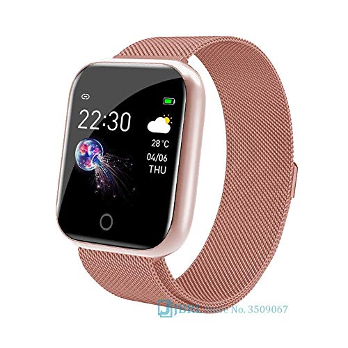HuangTing 2020 Smart Band Vrouwen Mannen Smartband Voor Android IOS Polsband Smart Armband Fitness Tracker Bluetooth Smartwatch