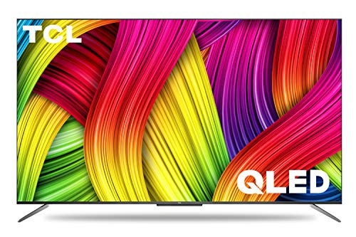 TCL 138.7 cm (55 inches) 4K Ultra HD Certified Android Smart QLED TV 55C715 (Metallic Black) (2020 Model) |with Voice Control