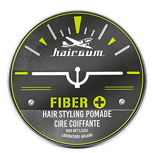 Hairgum Fiber, Arcilla y barro y cera - 100 gr.