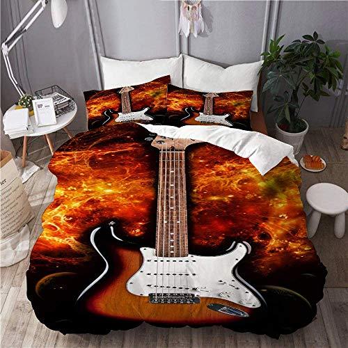 Funda nórdica Fender Stratocaster Strat Guitarra eléctrica