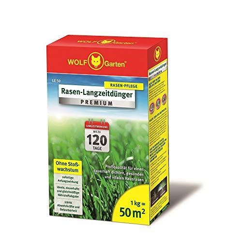 WOLF-Garten - Rasen-Langzeitdünger »Premium« 120 Tage LE 50; 3830010