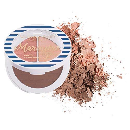 Vivienne Sabo - Face Countouring Palette Mariniere - bronzer/dark highlighter/blush, Farbe:Mix,...