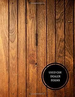 car dealer worksheet