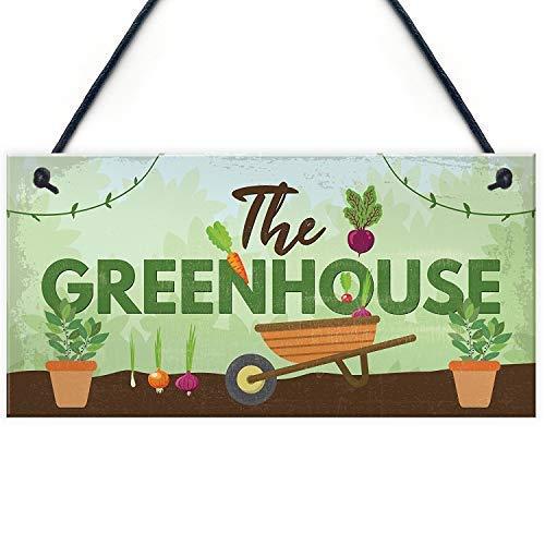 Brooer2ick The Greenhouse Schild für Gartenhaus, Sommerhaus, Aufschrift Dad Grandad Mum Nan, Geburtstagsgeschenk