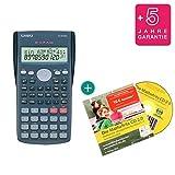 Casio FX-82MS + CD de aprendizaje CALCUSO (en alemán) + Garantía extendida 60 meses