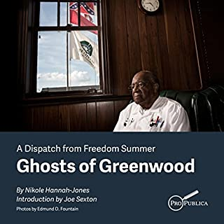 Ghosts of Greenwood audiobook cover art