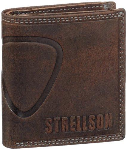 Strellson Baker Street Billfold Q7 4010000047 Herren Geldbörsen 9.5 x 10 x 2.5 cm (B x H x T), Braun (dark brown 702)