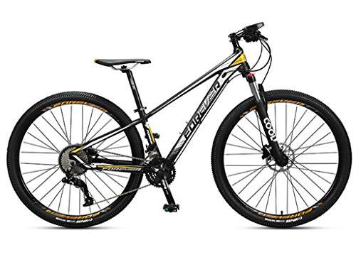 Bicicleta De Montaña De 36 Velocidades Neumáticos Grandes De 29 Pulgadas, Bicicleta De Velocidad Variable Unisex, Freno De Disco De Aceite Doble Sillín Impermeable Altura Ajustable A