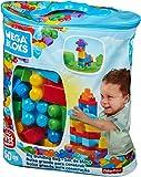Mega Bloks Bolsa clásica con 60 bloques de construcción, juguete...