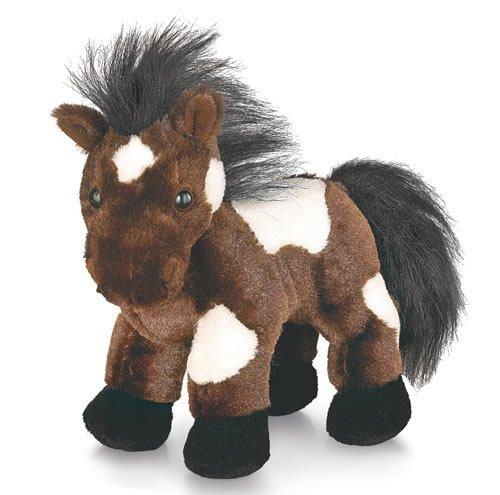 Webkinz Pinto Pferd Plüschtier, mit Versiegeltem Code zum Adoptieren