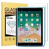 [2-Pack] SPARIN Protector Pantalla iPad Pro 9.7 Pulgadas, iPad 9.7 Pulgadas 2017/2018, iPad Air,...