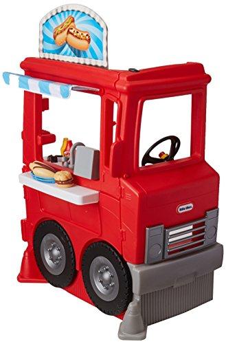 Little Tickes, 2-1 Food Truck, Juguete de Plástico Camión de Cocina, Elegante y Moderno, 1 Camión de…