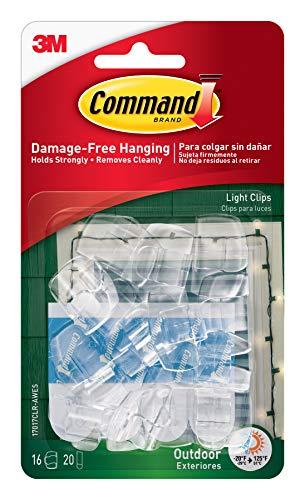 Command 17017CLR-AWES Outdoor-Lichtklemmen–transparent