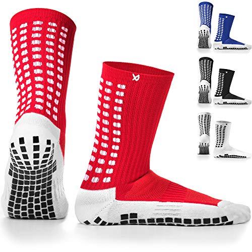 Lux Antideslizante Calcetines De Fútbol, Non Slip Calcetines de Deporte, Almohadillas de Goma, Trusox/tocksox Style, Top Calidad,