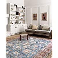Loloi Loren Collection Vintage Printed Persian Area Rug