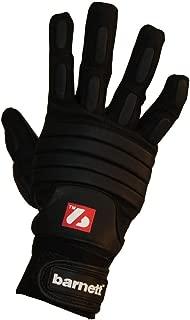 Barnett FLG -03 Linemen Football Gloves, OL, DL, Black- Adult & Youth Football Glove