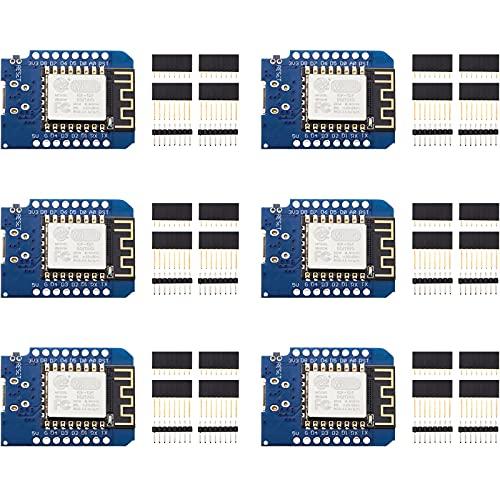6 Stücke Entwicklung Board für ESP8266 ESP-12F 4 MB Byte WLAN WiFi Internet Entwicklung Board Kompatibel mit Arduino WeMos