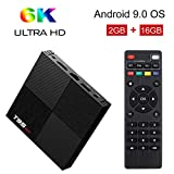 Sidiwen Android 9.0 TV Box T95 Mini 2 Go de RAM 16GB ROM H6 Quadcore Boîte de TV...