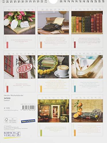 Literaturkalender Leselust 2020 - 2