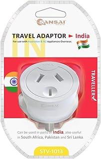Sansai HA-SS-STV-1013 Travel Adaptor Australia/NZ to India