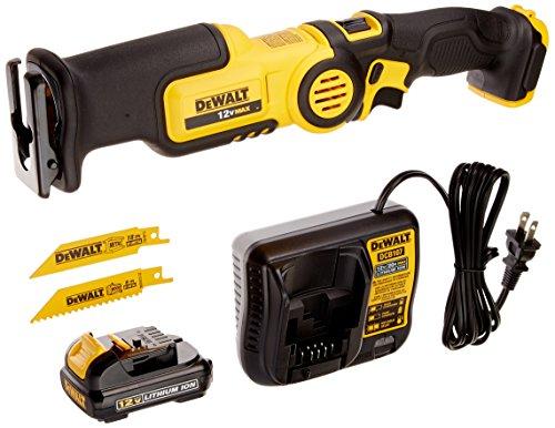 DEWALT 12V MAX Pivot Reciprocating Saw Kit (DCS310S1)