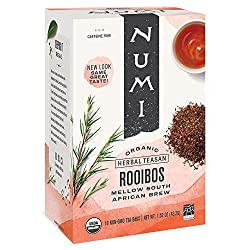 in budget affordable Numi Organic Tea Rooibos, Herbal Tea Bags, 18 Pieces, 3 Pieces (Packs may vary)