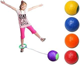 kylew Cheville Skip Ball, Skip Ball Cheville Skip Ball Hop Swing Jumping Ball Dancing Ball Jouet Jeux de Balle Foot Ball S...