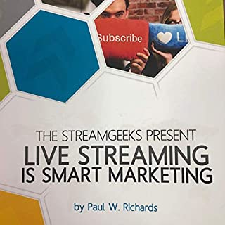Live Streaming Is Smart Marketing audiobook cover art