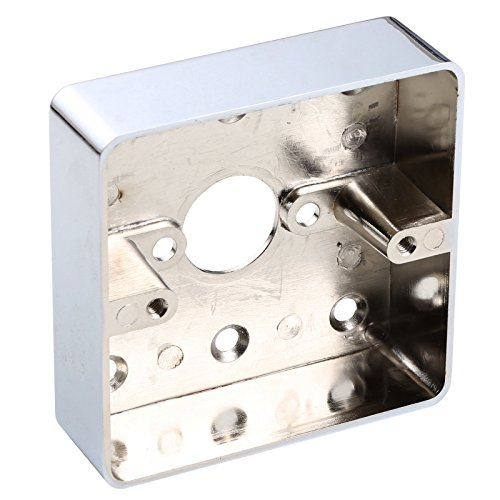 Uhppote in lega di zinco metallo superficie montato a parete posteriore cablaggio box Single Gang 86LX86WX25H/mm