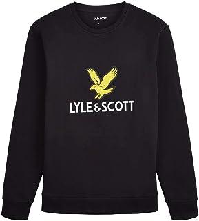 Lyle and Scott Men Logo Sweatshirt - Cotton