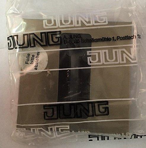 Jung TOPLINE LS 969 Fgb Abdeckung für Telefonsteckdose, bronzefarben