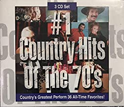 #1 Country Hits of The 70's [3 CD set]