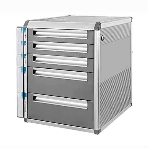 Archivadores Liuyu · Living Home Archivo de gabinete de Escritorio con Cerradura de aleación de Aluminio cajón de Almacenamiento de Oficina A4 pequeños Actividad