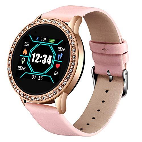 SSXZ smart Watch Mode smart Watch Frauen männer Sport wasserdichte Uhr herzfrequenz Schlaf Monitor für iPhone anruf Erinnerung bluetoo pink