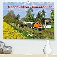 Oberlausitzer Eisenbahnen 2022 (Premium, hochwertiger DIN A2 Wandkalender 2022, Kunstdruck in Hochglanz): Eisenbahnkalender mit Fotos aus der Oberlausitz (Monatskalender, 14 Seiten )