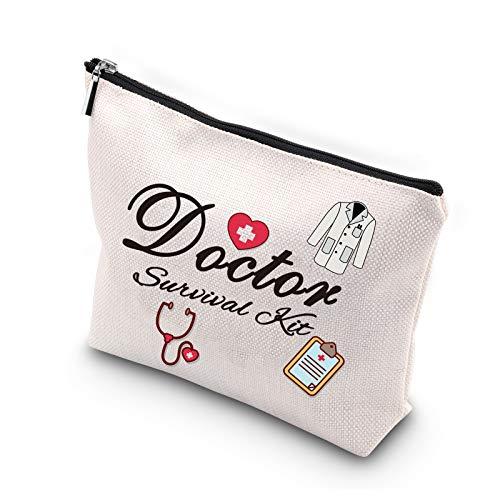 Doctor Gift Doctor Survival Kit Funny Cosmetics Bag Makeup Bag for Doctor...