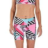 Zoot Pantalones de triatlón Femenino de 6 Pulgadas Estilo Cali con Acolchado de Asiento en 2D, Bolsillos Laterales, SPF 50+ y Costuras Seamlink Tamaño XS
