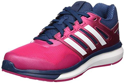 adidas Supernova Glide 8, Scarpe da Running Unisex-Adulto, Rosa EQT Pink S16 Ftwr White Mineral Blue S16, 37 1/3 EU