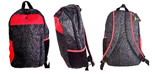 Nike Air Jordan Jumpman Backpack Black/Gym Red