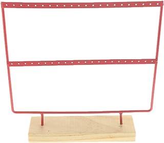 F Fityle Multi-Functional Hook Dangle Earrings Holder Jewelry Display Organizer Rack
