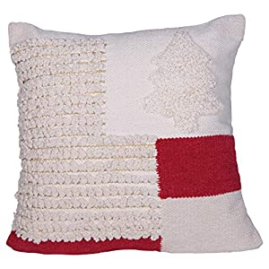 "Add fun to this holiday season with a special Christmas pillow Transform the bedroom for the holidays by simply adding festive pillows Perfect for adding to a couch, chair, bench or window seat 20""L x 3""W x 20""H"