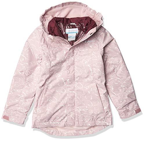 Columbia Whirlibird Ii Interchange - Chaqueta para niña, Niñas, 1801531, Rosa mineral agrietado/rosa mineral, XXS