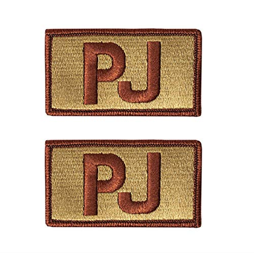 USAF PJ Letters (Pararescue) OCP Spice Brown Patch (Military Issued)-Veteran Owned Business-2