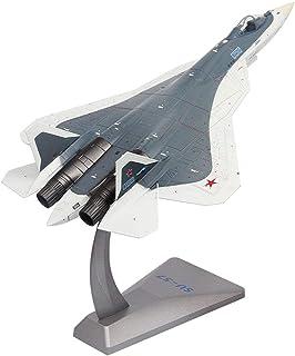 مجموعة نماذج الطائرات العسكرية ، مقياس 1: 72 SU-57 stealth fighter سبيكة نموذج ، ألعاب أطفال ديكورات