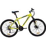 Hero Sprint Pro Ceralo 26T 21-Speed Bicycle (Yellow)