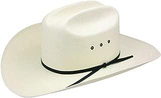 Stetson Resistol Womens 10X Cattleman Long Oval Cowboy Hat 73/8 Natural