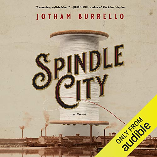Spindle City audiobook cover art