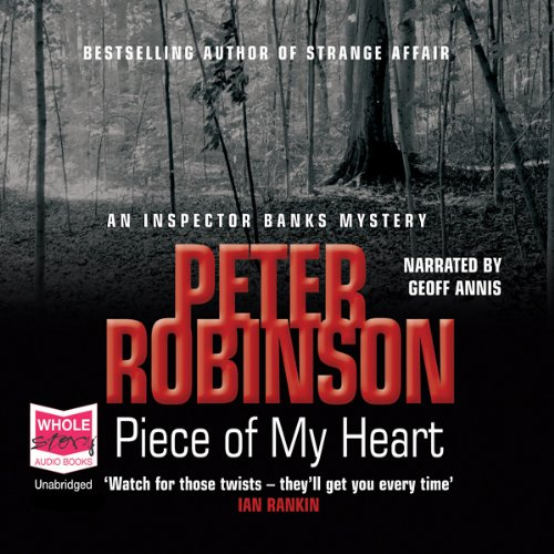 Piece of My Heart audiobook cover art