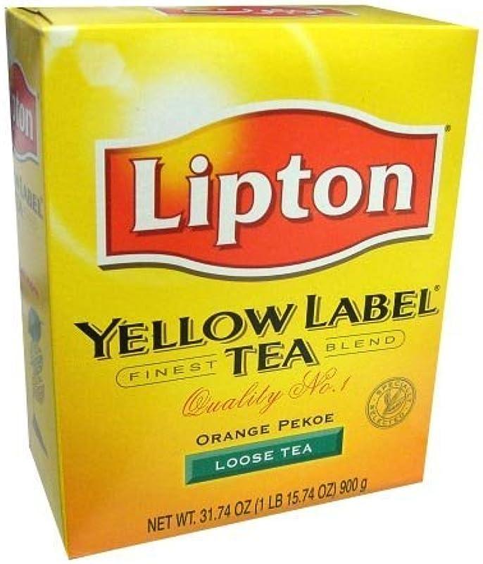 Lipton Yellow Label Orange Pekoe Loose Tea 31 74 Oz 1Lb By Lipton
