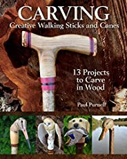 Image of Carving Creative Walking. Brand catalog list of Fox Chapel Publishing.
